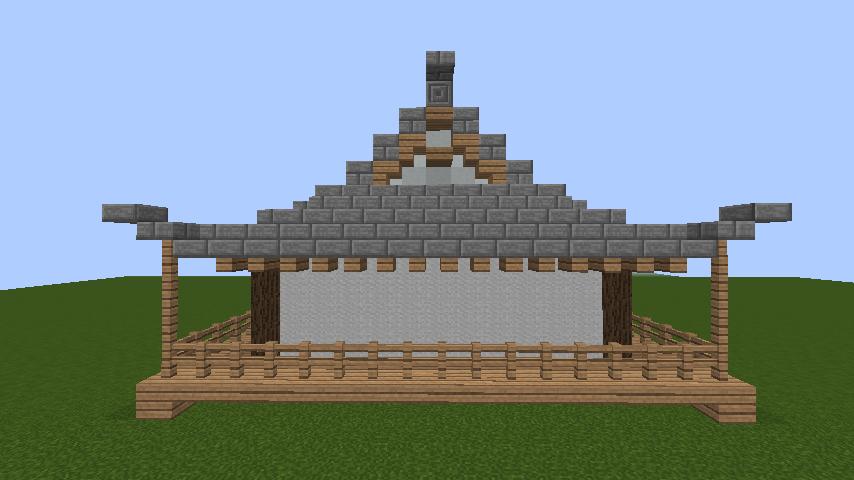 minecraft-roof_75 屋根ならこの記事におまかせ!置き方から和風,洋風に合わせた作り方まで全部紹介します。-マイクラ家図鑑