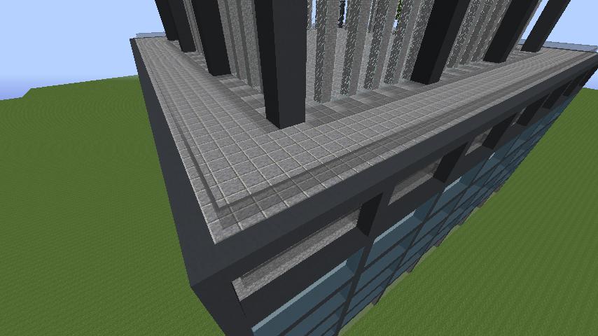 3a61703dc6db83b3c0467c086d462d49 ビルをマイクラでかっこよく作る!デザイン、建築方法、全部お教えします。|マイクラ家図鑑