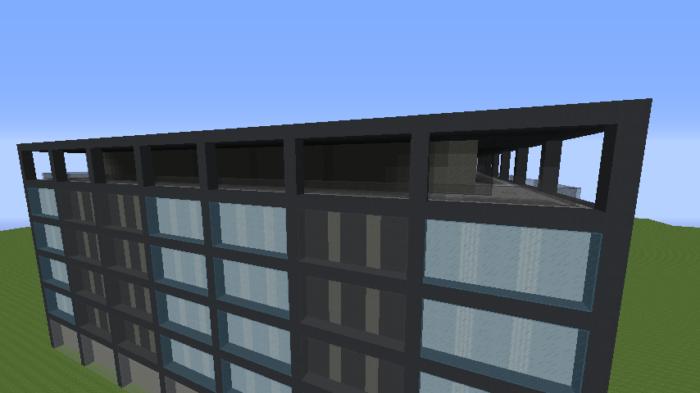 6a984223d41a387b5cf15e6d935cfe45 ビルをマイクラでかっこよく作る!デザイン、建築方法、全部お教えします。|マイクラ家図鑑