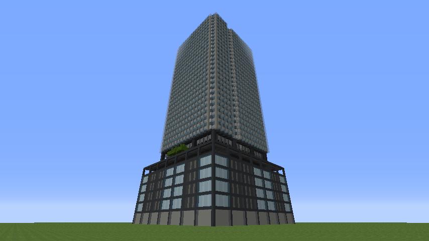 73e1ac41e1d0fb6be58c751e32f2883f ビルをマイクラでかっこよく作る!デザイン、建築方法、全部お教えします。|マイクラ家図鑑