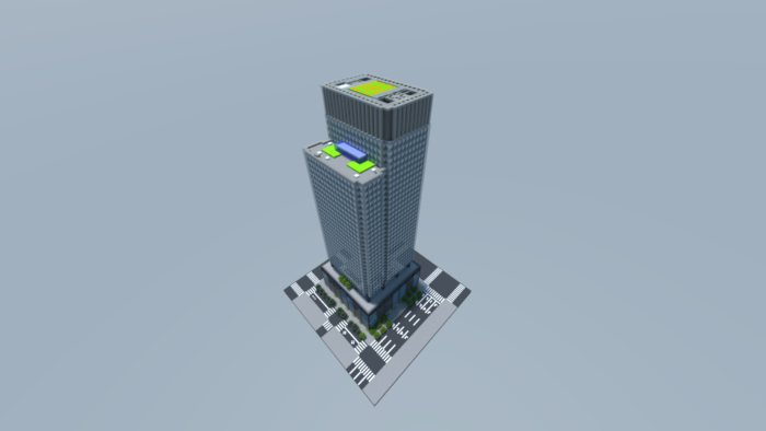 a9cc226d598e924ff9cace5597fb146f ビルをマイクラでかっこよく作る!デザイン、建築方法、全部お教えします。|マイクラ家図鑑