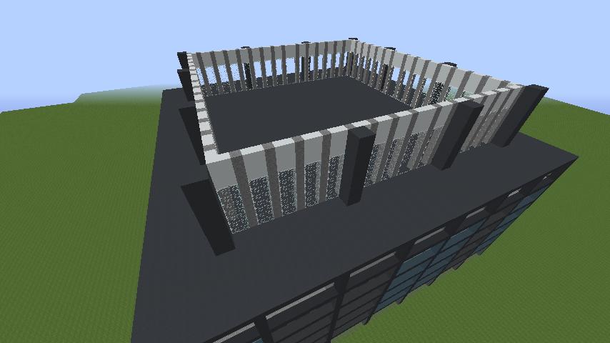 d76925b6e33e9704ff49f051a42db20c ビルをマイクラでかっこよく作る!デザイン、建築方法、全部お教えします。|マイクラ家図鑑