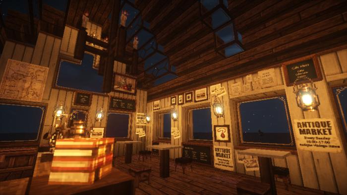 【マイクラ】家のおしゃれな内装の作り方を紹介します。