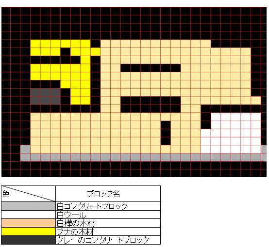 2d807ab3ae474b8d47c8a3dfb12dd6c7 ー コンクリートブロック を使って、 豆腐建築 をオシャレにー | マイクラ家図鑑