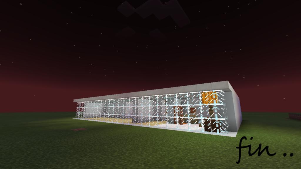 62ef778c8bf507ff932097aed8321d44-1-1024x576 ー コンクリートブロック を使って、 豆腐建築 をオシャレにー | マイクラ家図鑑