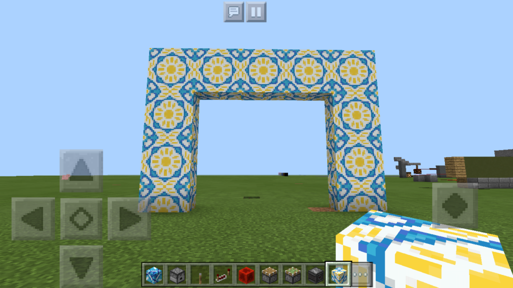 minecraft-pe-apdate-1.1-_11-1024x576 【新アプデ】 建築には必須 ブロック コンクリート 、 彩釉ブロック を解説してみる。【MCPE1.1】