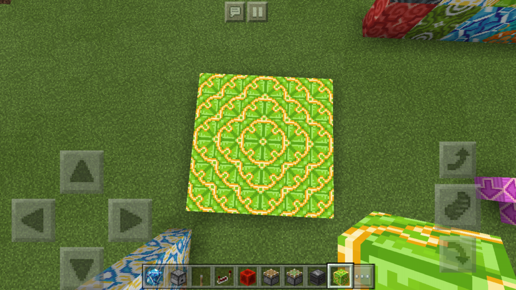 minecraft-pe-apdate-1.1-_12-1024x576 【新アプデ】 建築には必須 ブロック コンクリート 、 彩釉ブロック を解説してみる。【MCPE1.1】