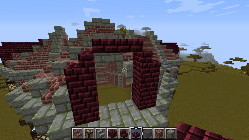 b67f2015bc954e5eb7114c6365421a55 おしゃれな レンガ建築 の作り方、お教えします!
