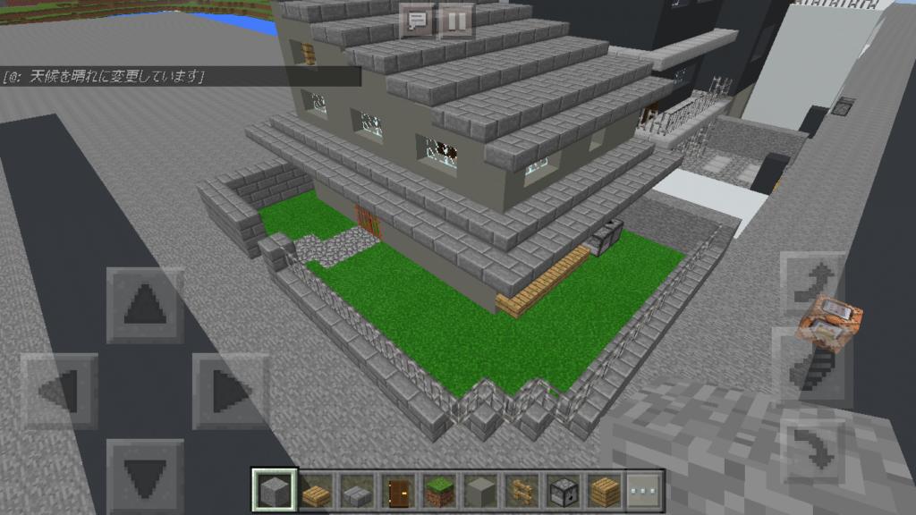 bbcb64e5b6ef7cd18b57eb72807bc951-1024x576 建築初心者でも簡単にリアルな 庭 付き一軒家が作れる! コンクリート建築講座