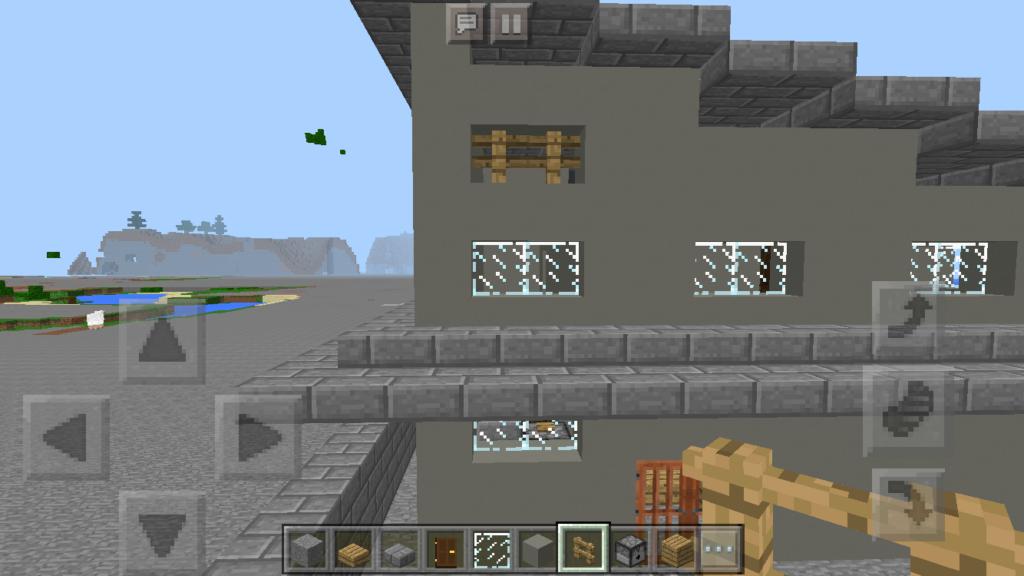 e65de44d19941b081d7b923010b93c33-1024x576 建築初心者でも簡単にリアルな 庭 付き一軒家が作れる! コンクリート建築講座
