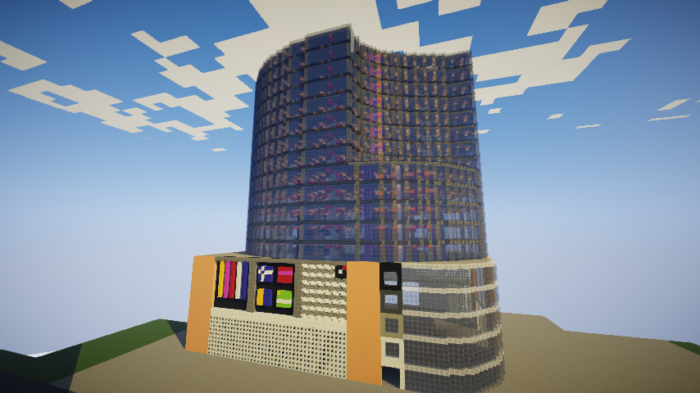 建築勢必見!巨大建築を自力で作る方法を紹介します!- 百貨店 建築講座-