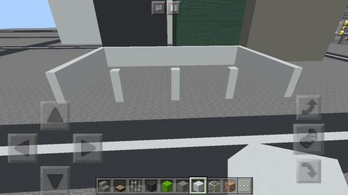 minecraft-building_02 都市再現に最適!都会でよく見る オフィスビル の作り方を紹介します。