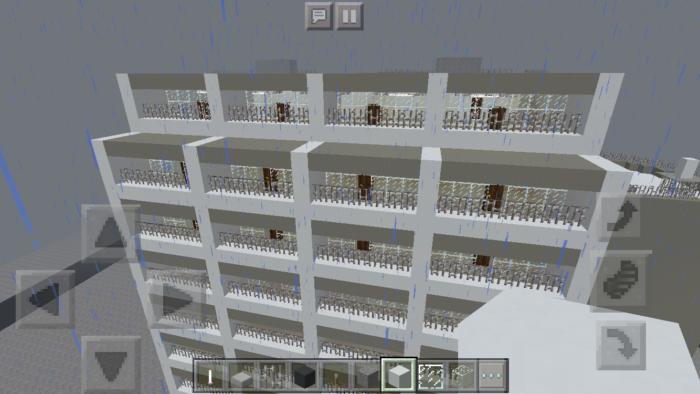 minecraft-building_21 都市再現に最適!都会でよく見る オフィスビル の作り方を紹介します。