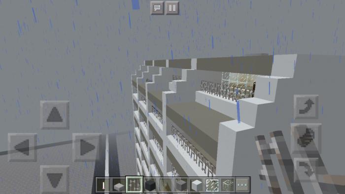 minecraft-building_22 都市再現に最適!都会でよく見る オフィスビル の作り方を紹介します。