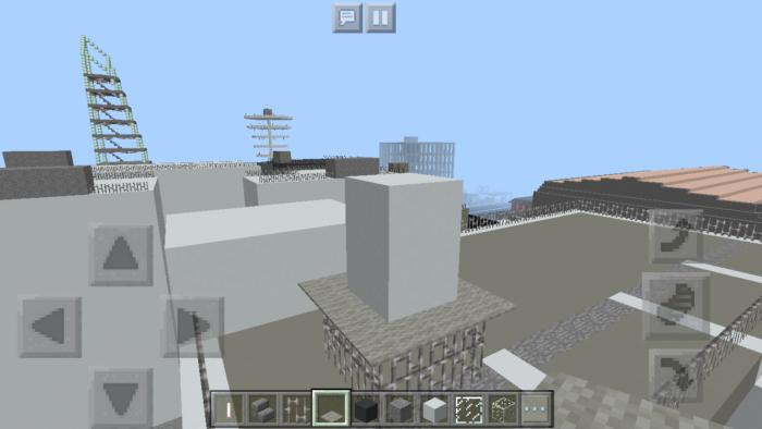 minecraft-building_26 都市再現に最適!都会でよく見る オフィスビル の作り方を紹介します。
