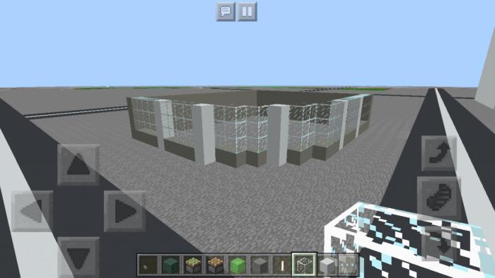 minecraft-quarter-circle-building_03 四半円のビル の作り方を紹介します。ビル建築講座