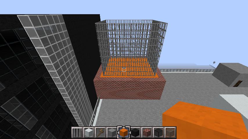 minecraft-rooftop_04 屋上 設備を整えれば、ビルはもっとリアルになる!外装講座 【 マイクラ 】