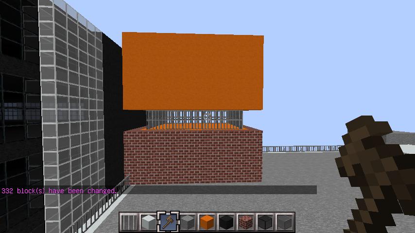 minecraft-rooftop_05 屋上 設備を整えれば、ビルはもっとリアルになる!外装講座 【 マイクラ 】