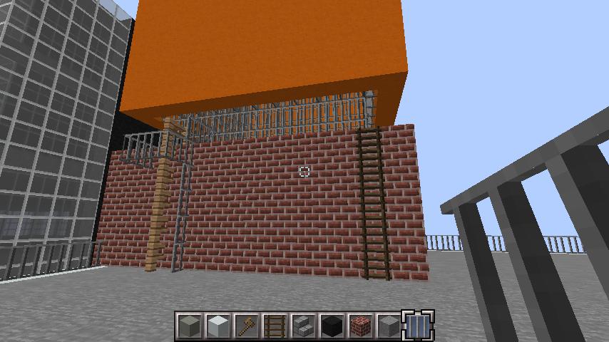 minecraft-rooftop_06 屋上 設備を整えれば、ビルはもっとリアルになる!外装講座 【 マイクラ 】
