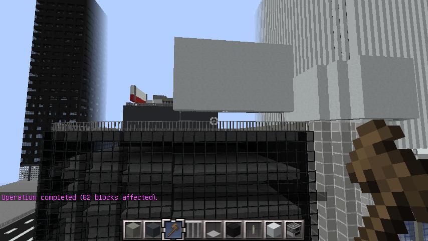 minecraft-rooftop_08 屋上 設備を整えれば、ビルはもっとリアルになる!外装講座 【 マイクラ 】