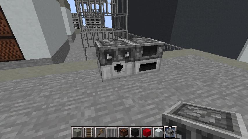 minecraft-rooftop_10 屋上 設備を整えれば、ビルはもっとリアルになる!外装講座 【 マイクラ 】