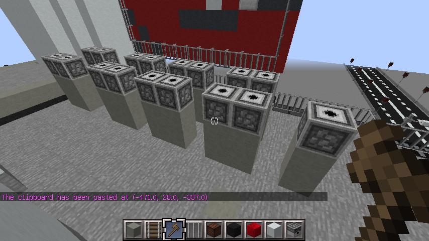 minecraft-rooftop_14 屋上 設備を整えれば、ビルはもっとリアルになる!外装講座 【 マイクラ 】