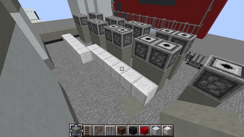 minecraft-rooftop_15 屋上 設備を整えれば、ビルはもっとリアルになる!外装講座 【 マイクラ 】