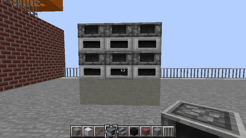 minecraft-rooftop_16 屋上 設備を整えれば、ビルはもっとリアルになる!外装講座 【 マイクラ 】