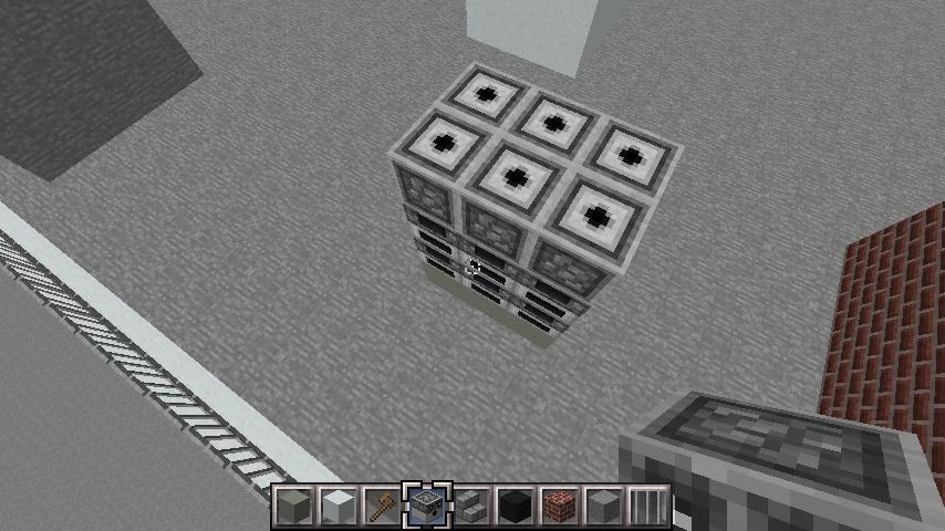minecraft-rooftop_17 屋上 設備を整えれば、ビルはもっとリアルになる!外装講座 【 マイクラ 】