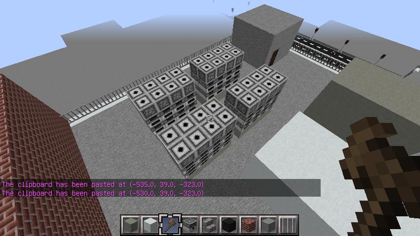 minecraft-rooftop_18 屋上 設備を整えれば、ビルはもっとリアルになる!外装講座 【 マイクラ 】