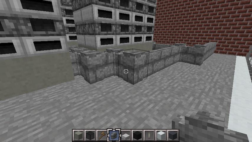 minecraft-rooftop_19 屋上 設備を整えれば、ビルはもっとリアルになる!外装講座 【 マイクラ 】