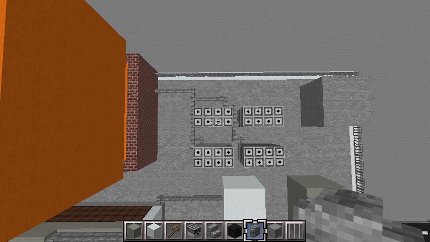 minecraft-rooftop_20 屋上 設備を整えれば、ビルはもっとリアルになる!外装講座 【 マイクラ 】
