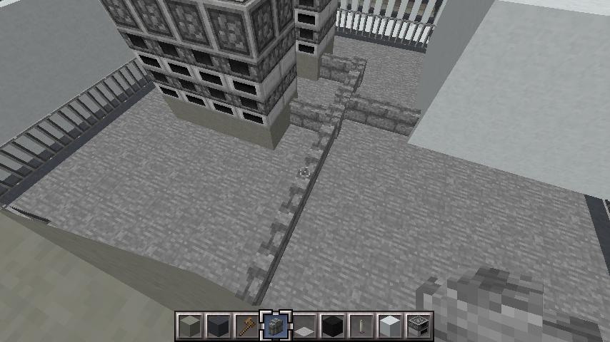 minecraft-rooftop_21 屋上 設備を整えれば、ビルはもっとリアルになる!外装講座 【 マイクラ 】