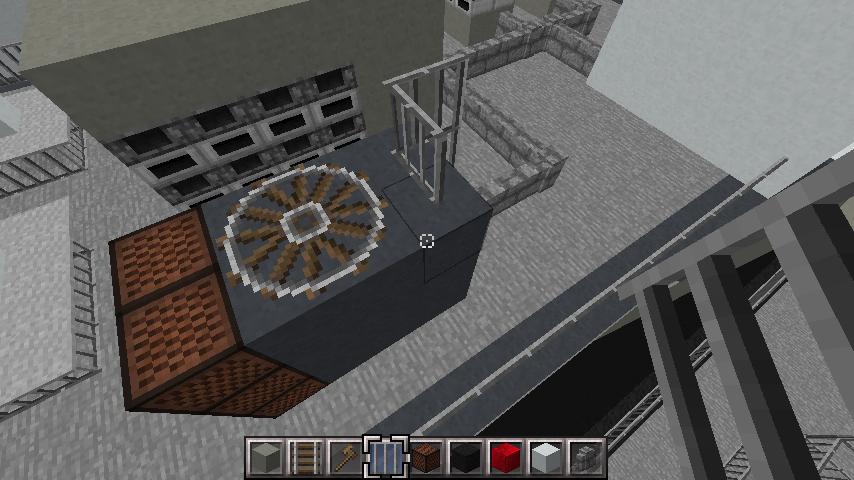 minecraft-rooftop_23 屋上 設備を整えれば、ビルはもっとリアルになる!外装講座 【 マイクラ 】
