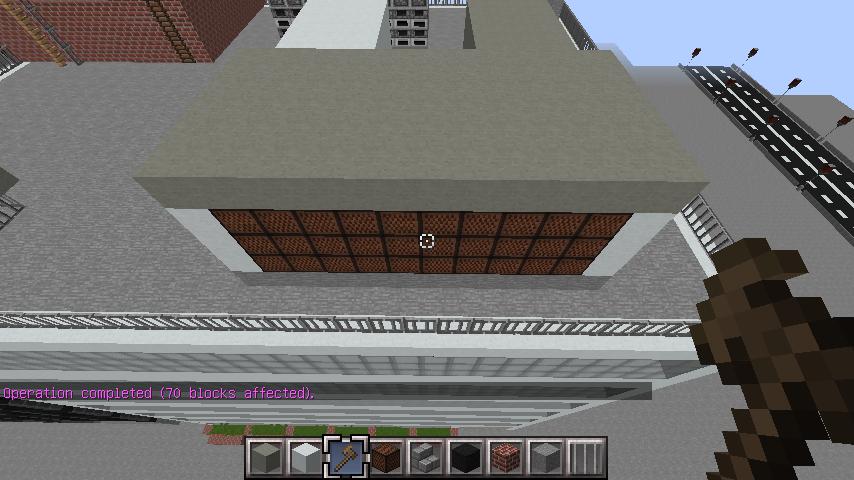 minecraft-rooftop_25 屋上 設備を整えれば、ビルはもっとリアルになる!外装講座 【 マイクラ 】