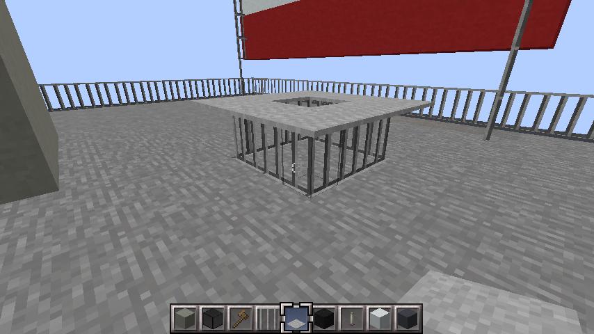 minecraft-rooftop_29 屋上 設備を整えれば、ビルはもっとリアルになる!外装講座 【 マイクラ 】