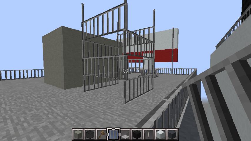 minecraft-rooftop_34 屋上 設備を整えれば、ビルはもっとリアルになる!外装講座 【 マイクラ 】