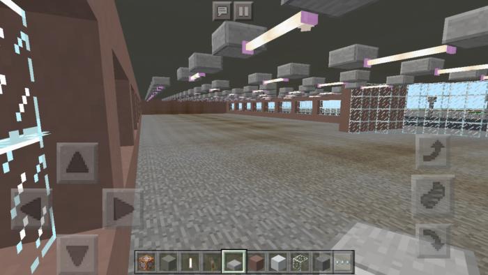 minecraft-shopping-mall_10 ショッピングモール は都市づくりに必須!ビルと駐車場の作り方教えます。【 マイクラ 】