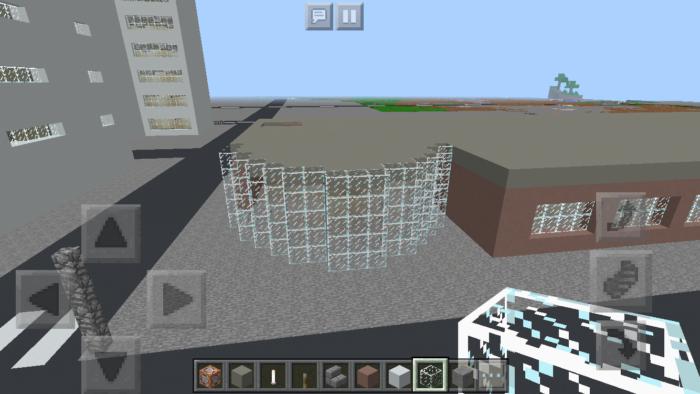 minecraft-shopping-mall_16 ショッピングモール は都市づくりに必須!ビルと駐車場の作り方教えます。【 マイクラ 】