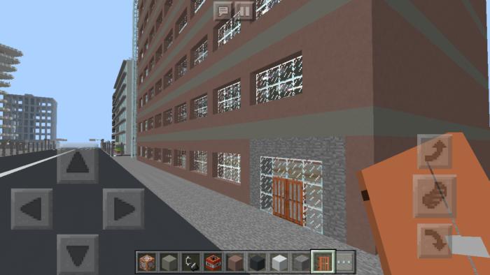 minecraft-shopping-mall_21 ショッピングモール は都市づくりに必須!ビルと駐車場の作り方教えます。【 マイクラ 】