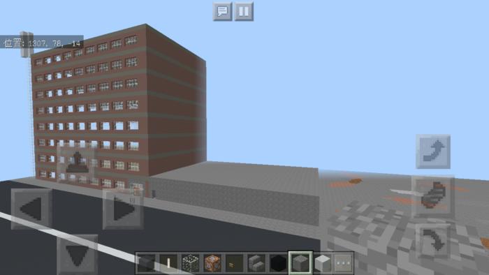 minecraft-shopping-mall_23 ショッピングモール は都市づくりに必須!ビルと駐車場の作り方教えます。【 マイクラ 】