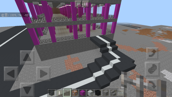 minecraft-shopping-mall_32 ショッピングモール は都市づくりに必須!ビルと駐車場の作り方教えます。【 マイクラ 】