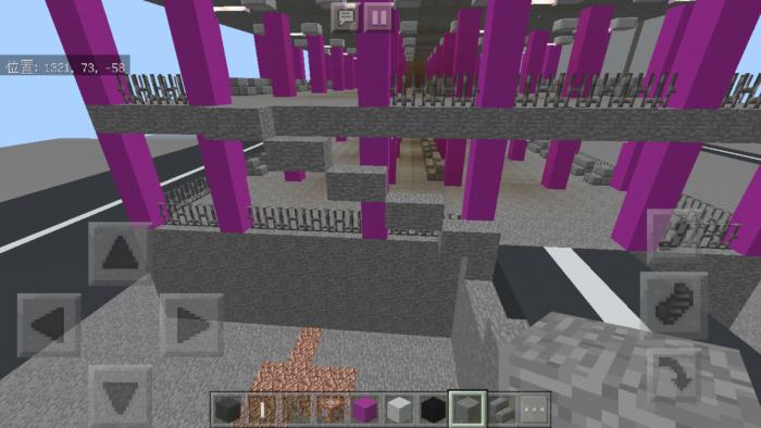minecraft-shopping-mall_33 ショッピングモール は都市づくりに必須!ビルと駐車場の作り方教えます。【 マイクラ 】