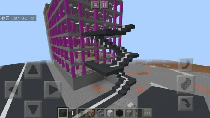 minecraft-shopping-mall_36 ショッピングモール は都市づくりに必須!ビルと駐車場の作り方教えます。【 マイクラ 】