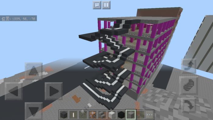 minecraft-shopping-mall_37 ショッピングモール は都市づくりに必須!ビルと駐車場の作り方教えます。【 マイクラ 】