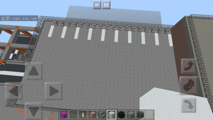 minecraft-shopping-mall_39 ショッピングモール は都市づくりに必須!ビルと駐車場の作り方教えます。【 マイクラ 】