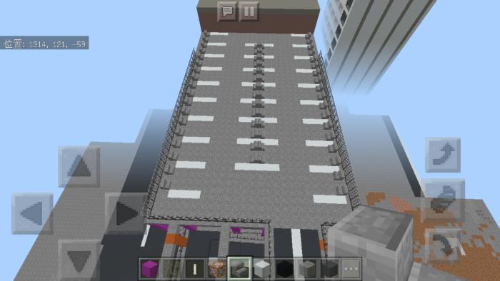 minecraft-shopping-mall_40 ショッピングモール は都市づくりに必須!ビルと駐車場の作り方教えます。【 マイクラ 】