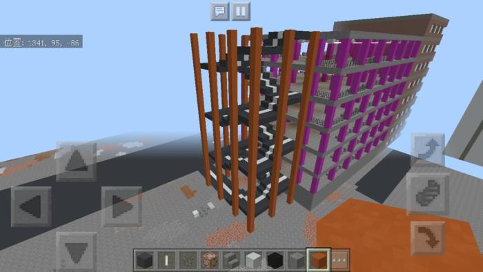 minecraft-shopping-mall_43 ショッピングモール は都市づくりに必須!ビルと駐車場の作り方教えます。【 マイクラ 】