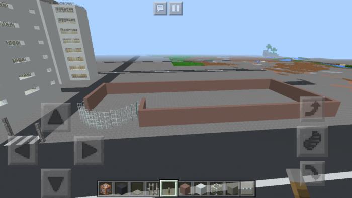 minecraft-shopping-mall_5 ショッピングモール は都市づくりに必須!ビルと駐車場の作り方教えます。【 マイクラ 】