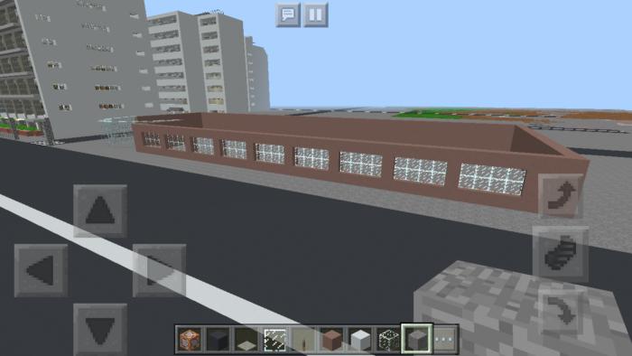 minecraft-shopping-mall_6 ショッピングモール は都市づくりに必須!ビルと駐車場の作り方教えます。【 マイクラ 】